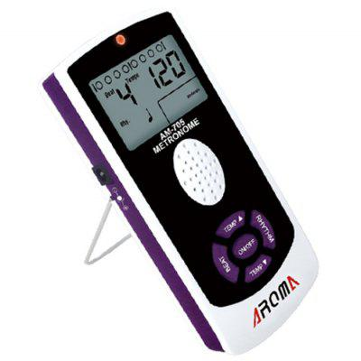 Aroma AM - 705 40 - 208bpm Universal Electronic Metronome with Volume Control LCD Screen Professional Instruments Accessory