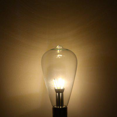 YouOKLight 6W E27 580Lm 12 SMD 3014 LED Lights Retro Edison Filament Bulb Lamp - Warm White 110V