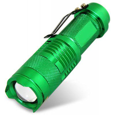 SK68 Cree XPE - Q5 LED Adjustable Focusing Flashlight Torch (300Lm 1 x 14500)