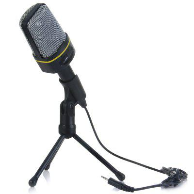 Desktop Microphone Unidirectional Dynamic Condenser Sound MIC with Tripod
