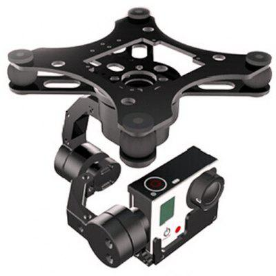 X - CAM V2.0 A10-3H 3 Axis Brushless Gimbal for GoPro FPV Kongcopter
