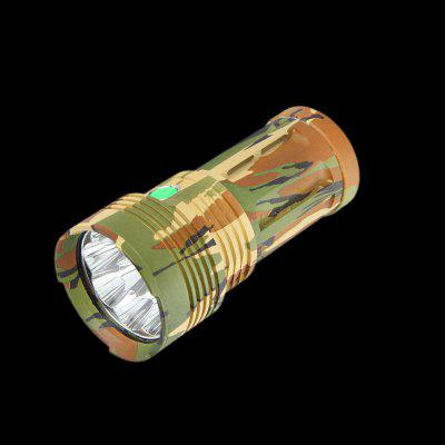 SHARP EAGLE LT - 9 LED Army Green Flashlight