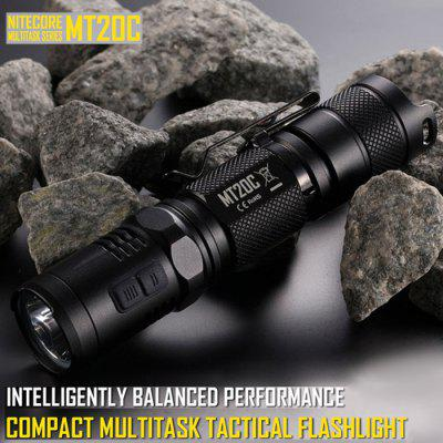 Nitecore MT20C Cree XP - G2 R5 460LM 8 Modes Tactical 18650 LED Flashlight