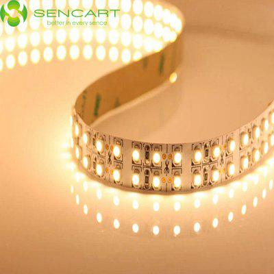 Sencart 5M 3600LM 1200 SMD 3528 Dual Row Flexible LED Tape Light