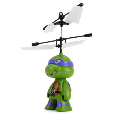 NINJA TURTLES Flight Infrared Sensor Intelligent Recognition Hovering RC Helicopter
