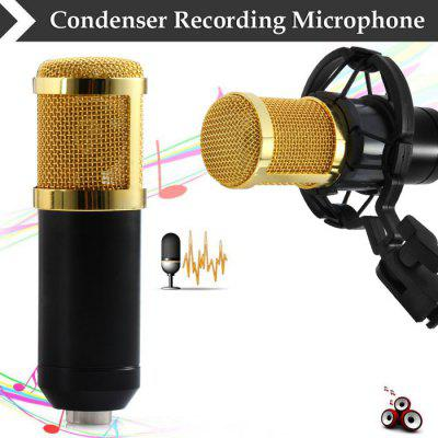 BM - 800 Condenser Sound Recording Microphone with Shock Mount