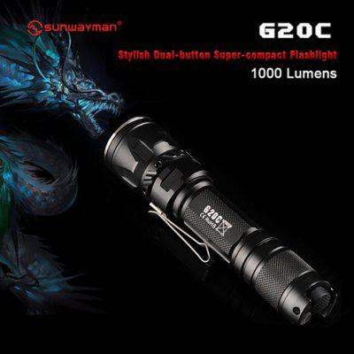 Sunwayman G20C Compact LED Flashlight