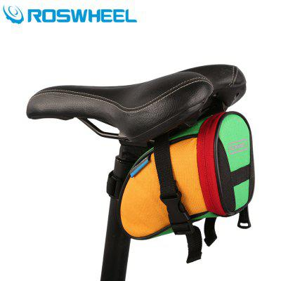 Roswheel Durable Bicycle Saddle Bag Bike Repair Tools Pack Pocket for Biking Riding Cycling
