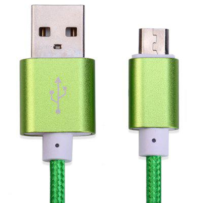 Nylon Braided Data Charging Cable 1.4 Meters