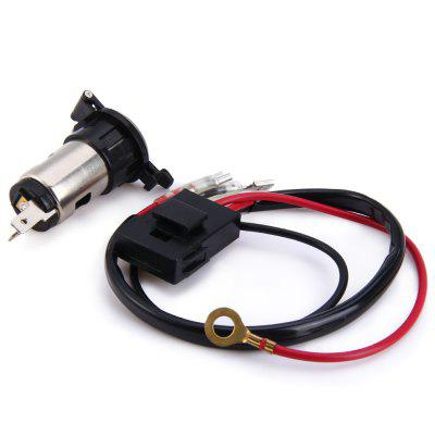 12V Car Motorcycle Cigarette Lighter Power Plug Socket