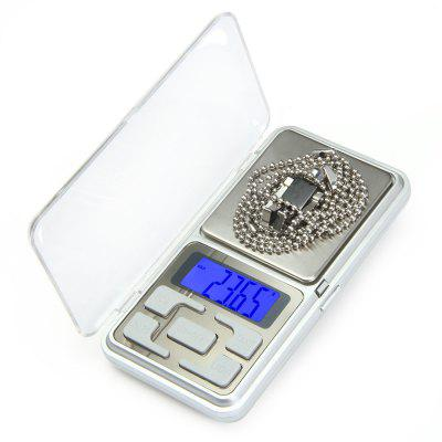 Hostweigh Mini Digital Scale 200g Capacity Diamond Condiment Weighing Device with LCD