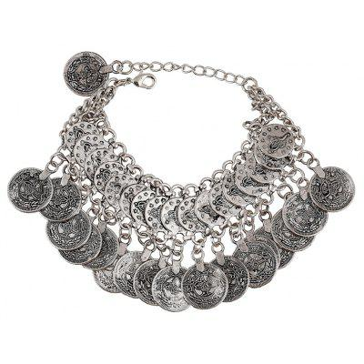 Bohemia Coin Pendant Bracelet For Women