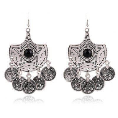 Chic Beads Round Earrings For Women