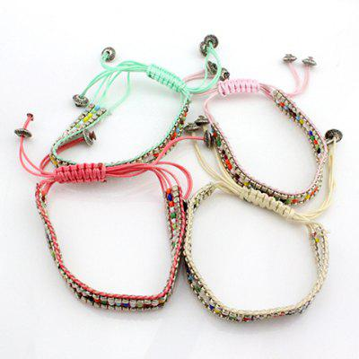 ONE PIECE Bohemian Style Beads Knitted Bracelet