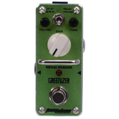 AROMA AGR - 3 GREENIZER Mini Simulator Effect Pedal Folk Guitar Style True Bypass