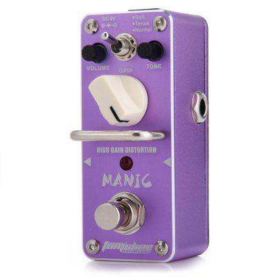 AROMA AMC - 3 MANIC Metal Distortion Guitarra Effect Pedal Heavy Rock Metal Style True Bypass