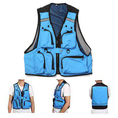 Men Outdoor Multi-pocket Waistcoat
