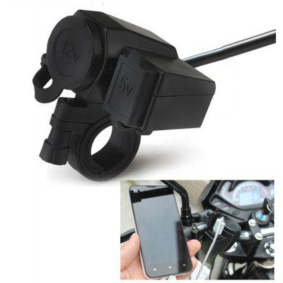 WUPP-01 Motorcycle USB Charger Power Plug Socket