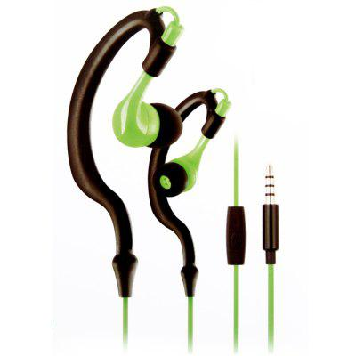 KM-R02 3.5mm Stereo Sports  Waterproof Headphones