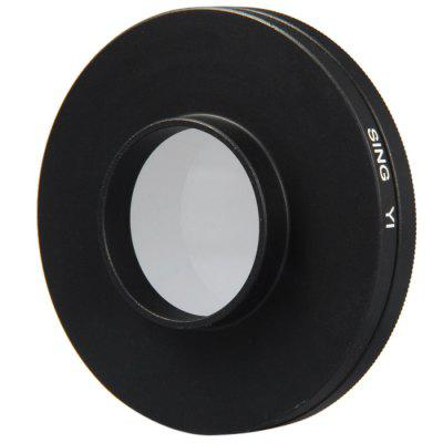 52mm Filter Lens + Lens Cover Set for Xiaomi Yi Action Sports Camera