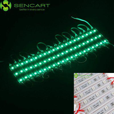Sencart 50W 60 x SMD 5050 Green Light LED Module Waterproof IP65 DC 12V