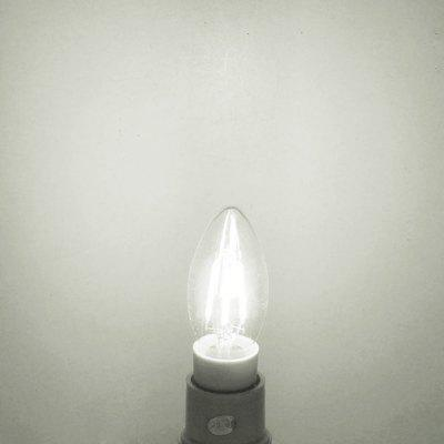 BRELONG 500LM E14 4W Dimming COB Candle LED Edison Light