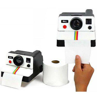 Polaroid Camera Design Tissue Box