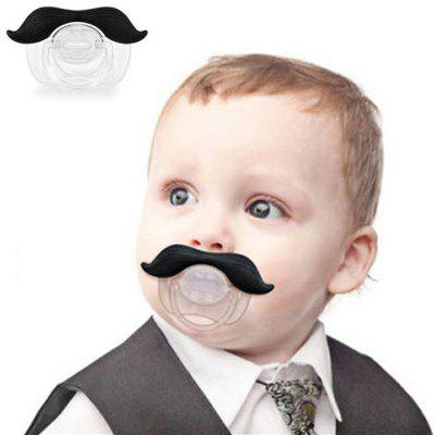 Creative Mustache Style Infant Pacifier