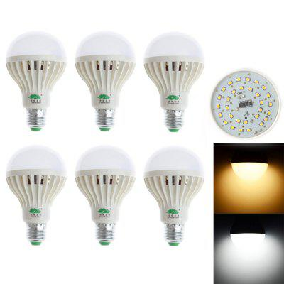 6 x Zweihnder 3528 LED Light Bulb