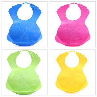 Practical Baby / Children Silicone Bib Feeding Nursing Accessories