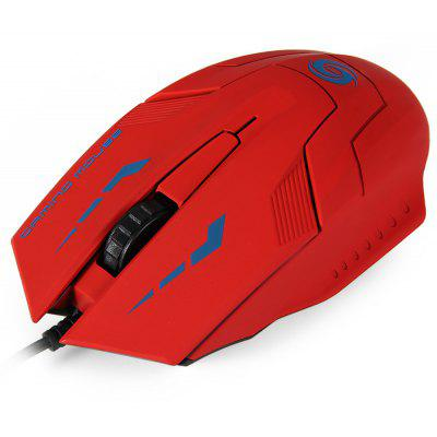 1.4m Cable 3000DPI 3D USB Wired Gaming Optical Mouse for Home Office