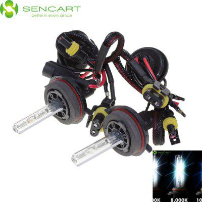 2 x SENCART 9008 H13 P26.4T 55W 4500LM HID Xenon Car Head Light