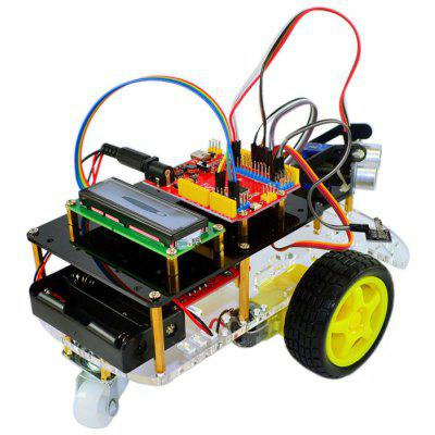 RT0008 Ultrasonic Smart Car Kit
