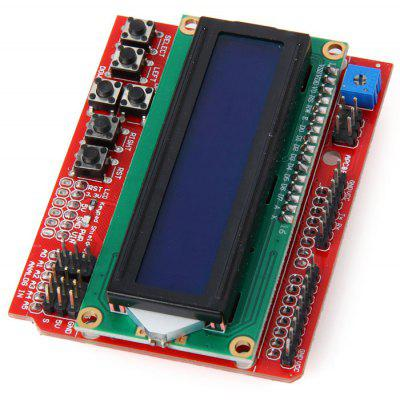 LCD1602 Character LCD Keypad Shield V2.0 for Arduino DIY Projects