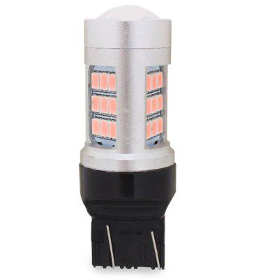 MZ T20 6W 1200LM 30 SMD 2835 LED Daytime Running Car Brake Light ( Pink Light )