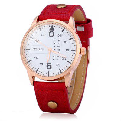 Weesky 1203G Male Quartz Watch