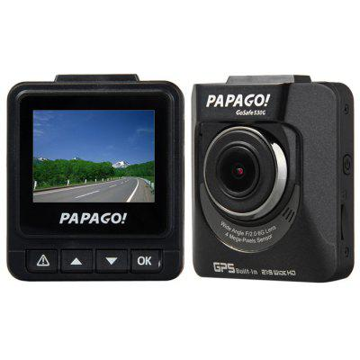 PAPAGO GoSafe530G HD 1080P 2.0 Inch Mini Dashcam Car DVR Ambarella A7LA50 130 Degree Super Wide Angle Support GPS / Motion Dection only $69.99