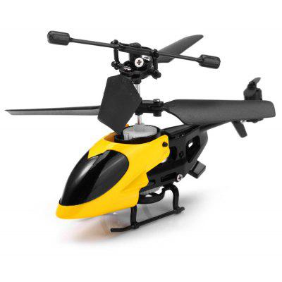 Gearbest QS QS5013 2.5 Channel RC Helicopter with Gyroscope Infrared Function