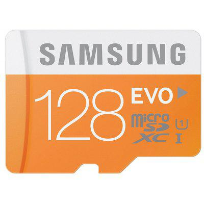 Buy Original Samsung 128GB EVO Class 10 Micro SDXC Memory Card ORANGE 128GB for $59.93 in GearBest store