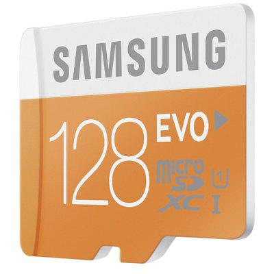 Original Samsung 128GB EVO Class 10 Micro SDXC Memory Card baseqi aluminum 128gb memory card for microsoft surface book 13and surface book 2 13 storage expansion card