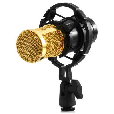 BM - 800 Condenser Sound Recording Microphone with Shock Mount bm 800 high quality professional condenser sound recording microphone with shock mount for radio braodcasting singing 4 color