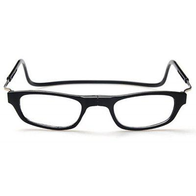 Buy BLACK Folding Magnetic Reading Presbyopic Glasses for Old People for $1.66 in GearBest store