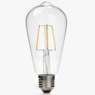 YouOKLight 4W E27 COB Edison Sapphire LED Ball Bulb Teardrop Filament Retro Light ( 3000K 380Lm AC 110V )Edison Bulbs<br>YouOKLight 4W E27 COB Edison Sapphire LED Ball Bulb Teardrop Filament Retro Light ( 3000K 380Lm AC 110V )<br><br>Angle: 270 degree<br>Available Light Color: Warm White<br>Brand: YouOKLight<br>Bulb Base Type: E27<br>CCT/Wavelength: 3000K<br>Features: Retro Edison Style<br>Function: Home Lighting, Commercial Lighting, Studio and Exhibition Lighting<br>Luminous Flux: 380Lm<br>Output Power: 4W<br>Package Contents: 1 x YouOKLight Retro Light Bulb<br>Package size (L x W x H): 16.5 x 7.5 x 7.5 cm / 6.48 x 2.95 x 2.95 inches<br>Package weight: 0.1 kg<br>Product size (L x W x H): 14 x 6.5 x 6.5 cm / 5.50 x 2.55 x 2.55 inches<br>Product weight: 0.055 kg<br>Sheathing Material: Glass<br>Total Emitters: 4<br>Type: Ball Bulbs<br>Voltage (V): AC 110