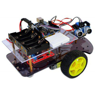 RT0001 Ultrasonic Smart Car Kit