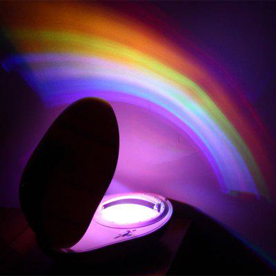 Attractive ... Egg Shaped Room Romantic Rainbow Projector LED Night Light / Lamp  Decoration Sleeping Lamp ...