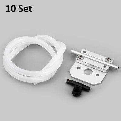 10 Set Water Cooling System Parts for Fei Lun FT012 RC Racing Boat
