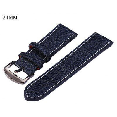 24mm Leather Strap Watch Band