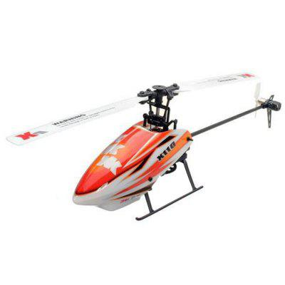 все цены на XK K110 6CH Brushless Single Blade RC Helicopter RTF with 3D and 6G Mode