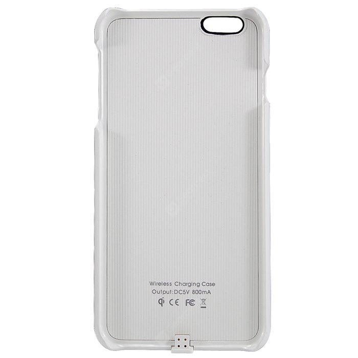 I6P - CB 2 in 1 Qi Standard Wireless Charging Receiver and Phone Protective Case for iPhone 6 Plus - 5.5 inches