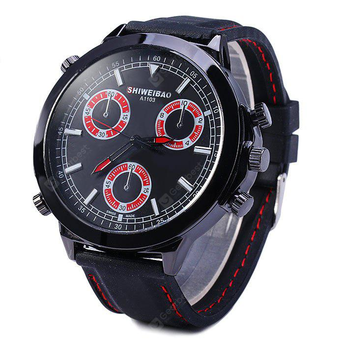 Shiweibao A1103 Quartz Big Dial Male Watch